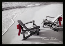 Seaside Wishes Holiday Cards