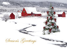 Rural Wonderland Holiday Cards
